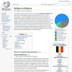 Religion in Belgium