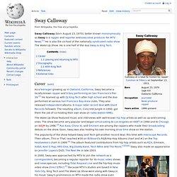Sway Calloway