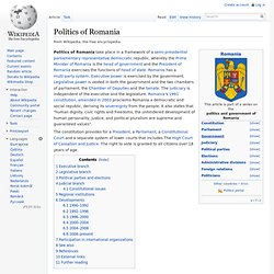 Politics of Romania
