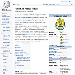 Romanian Armed Forces