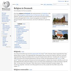 Religion in Denmark