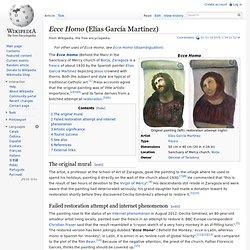 Ecce Homo (Elías García Martínez)