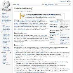 Ettercap (software)