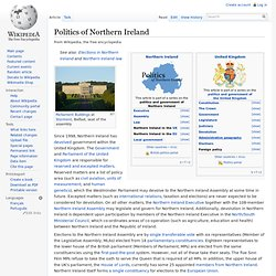 Politics of Northern Ireland