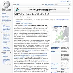 LGBT rights in the Republic of Ireland