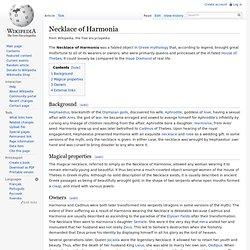 Necklace of Harmonia