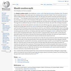 Mandé creation myth