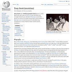 Tony Scott (musician)