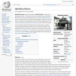Aberthau House
