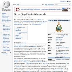 No. 44 (Royal Marine) Commando