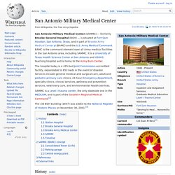 San Antonio Military Medical Center