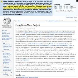 Haughton–Mars Project