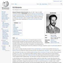 Ed Ricketts