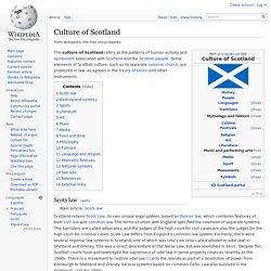Culture of Scotland