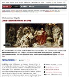 Wikipedia-Hoaxes: Schwindel in der Online-Enzyklopädie