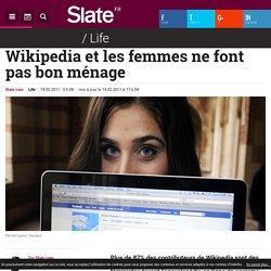 Wikipedia et les femmes ne font pas bon ménage