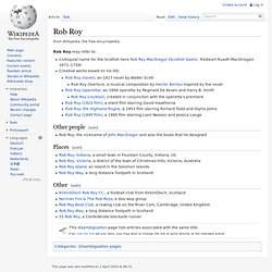 Rob Roy (film)