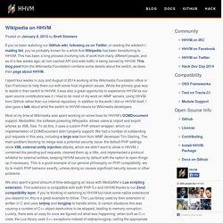 Wikipedia on HHVM « HHVM