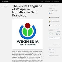Blog | The Noun Project, The Visual Language of Wikipedia Iconathon in San Francisco