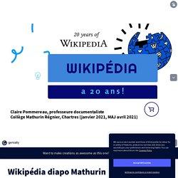 Wikipédia diapo Mathurin par Claire Pommereau sur Genially