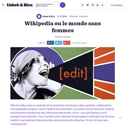 Wikipedia ou le monde sans femmes