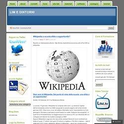 Wikipedia a scuola