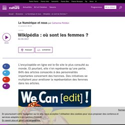 Wikipédia : où sont les femmes ?