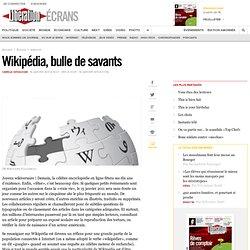 Wikipédia, bulle de savants