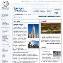 Wikipédia, a szabad enciklopédia