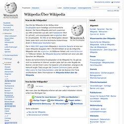 Step [1] von 7 ! Über Wikipedia