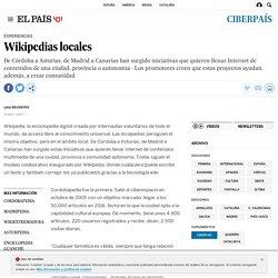 Wikipedias locales
