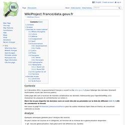 WikiProject France/data.gouv.fr