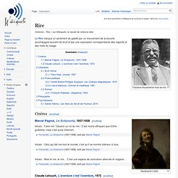 Rire - Wikiquote, le recueil de citations libre