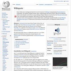 Wikiquote