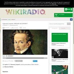Wikiradio - Il giovane Leopardi - Wikiradio del 21/03/2017
