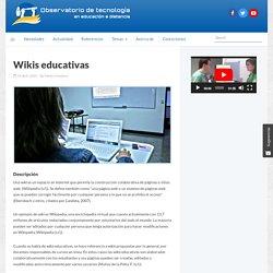 Wikis educativas