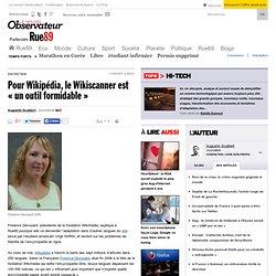 """Pour Wikipédia, le Wikiscanner est """"un outil formidable"""""""