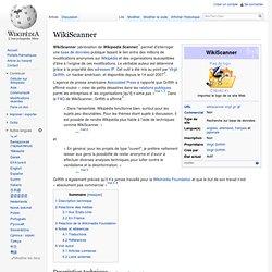 WikiScanner