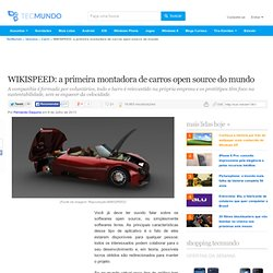 WIKISPEED: a primeira montadora de carros open source do mundo