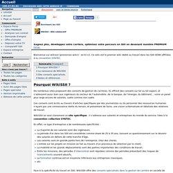 Accueil - WikiSSII : Conseils en gestion de carriere en SSII