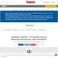 """Wikistrike, Quenel+, TV Libertés: dans la nébuleuse des sites de """"vraie information"""""""