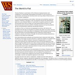 The World Is Flat Summary at WikiSummaries, free book summaries