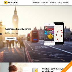 Wikitude - World's leading Augmented Reality SDK