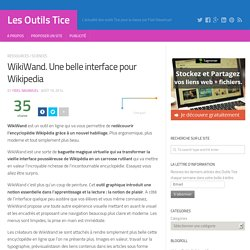 WikiWand. Une belle interface pour Wikipedia