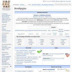 WikiWoordenboek