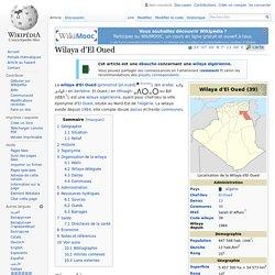 Wilaya d'El Oued