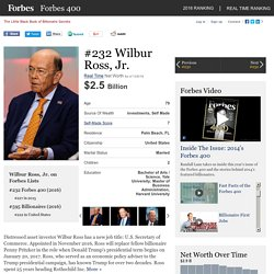 Wilbur Ross, Jr.