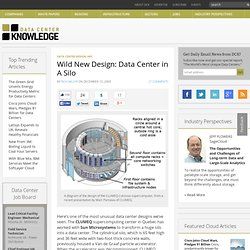 Wild New Design: Data Center in A Silo « Data Center Knowledge