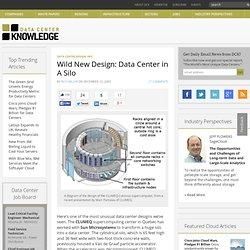 Wild New Design: Data Center in A Silo « Data Center Knowledge