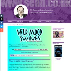 Wild Mood Swings: Surf the web with mood surfing